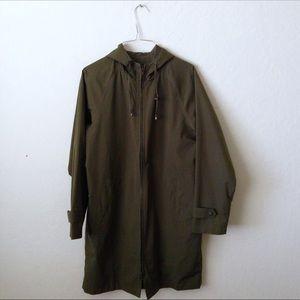 L.L. Bean Hooded Rain Jacket